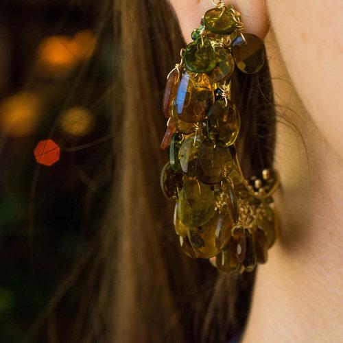 Lisa Eisner tourmaline earrings