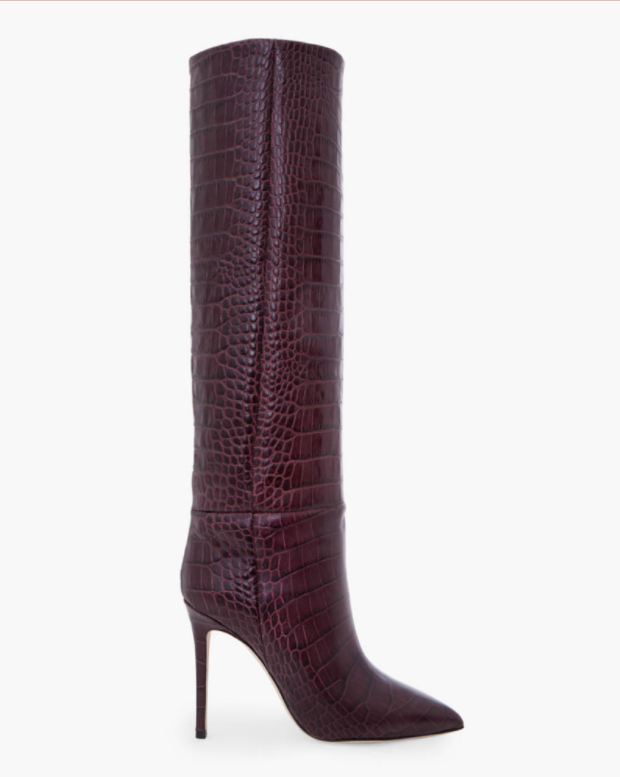 Paris Texas Stivale Stampo Cocco Boots