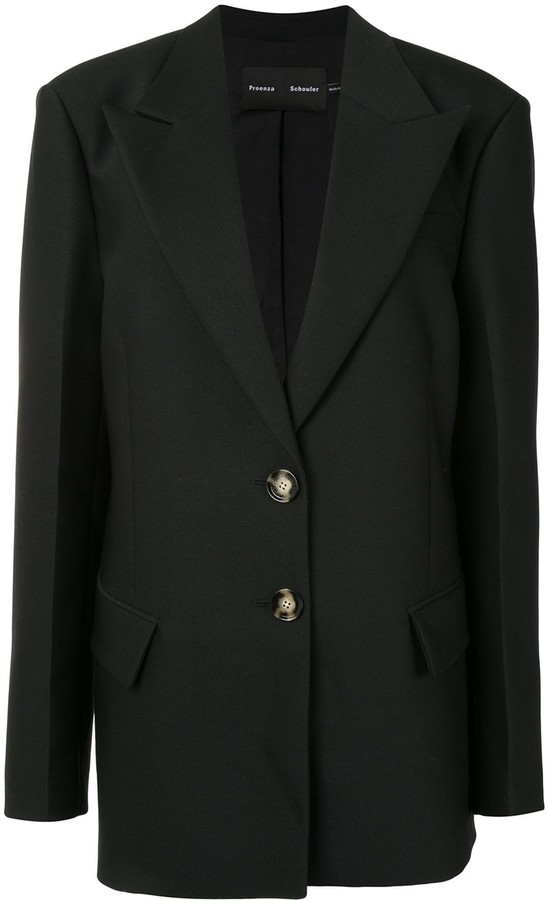 Proenza Schouler Slub Suiting Blazer