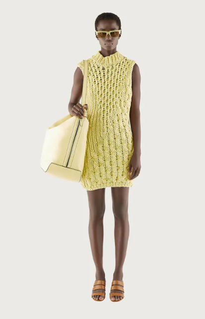 Salvatore Ferragamo sleeveless knitted dress