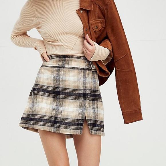 Free People Ari Mini Skirt