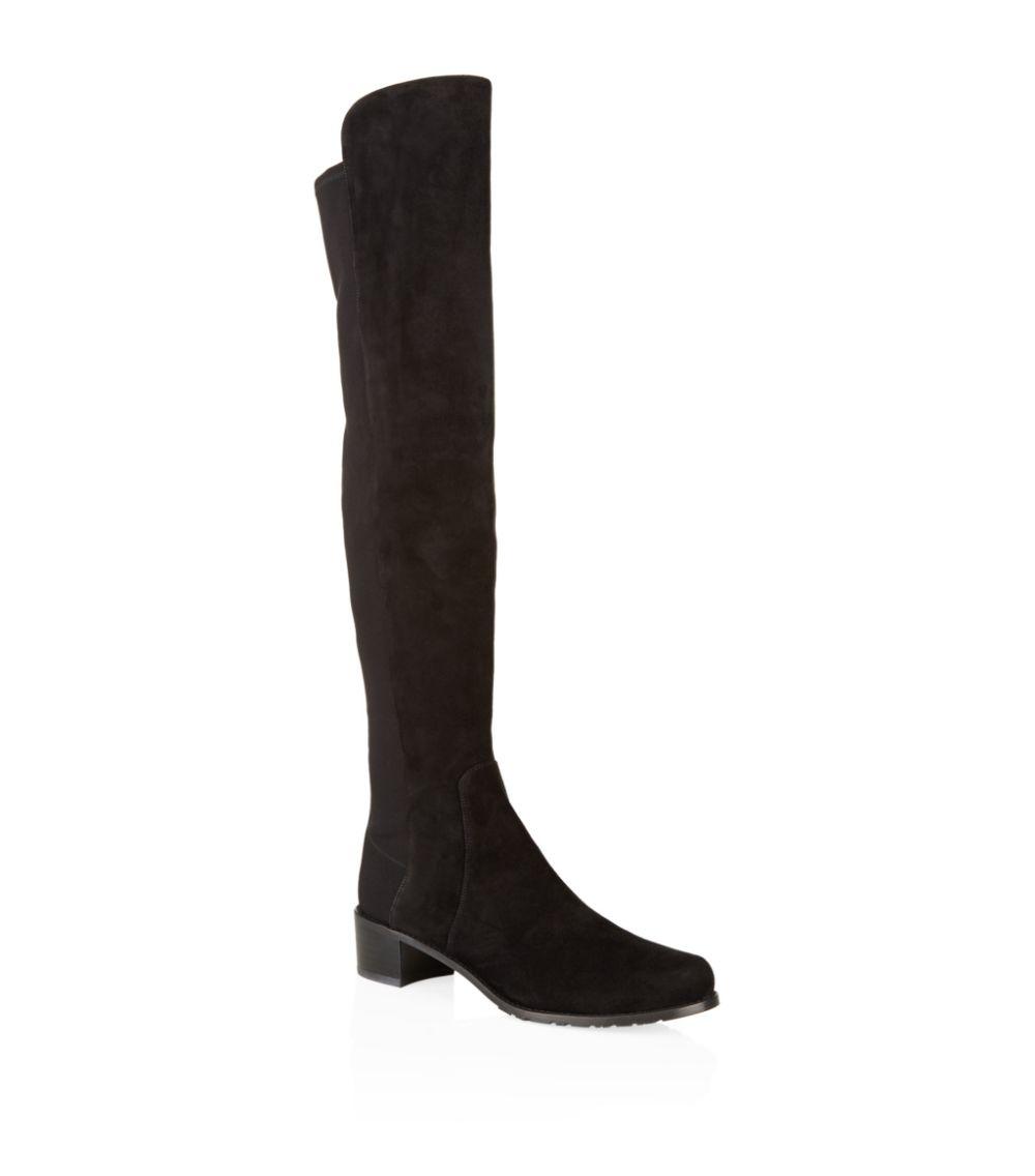 Stuart WeitzmanSuede Reserve Over-The-Knee Boots