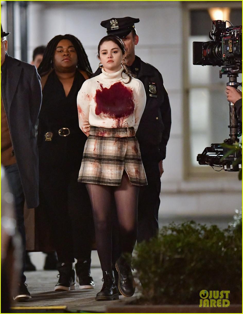 where to get Selena gomez black white plaid mini skirt black boots 13 April 2021 Photo Just Jared