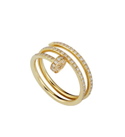 Cartier Juste un Clou Ring diamonds