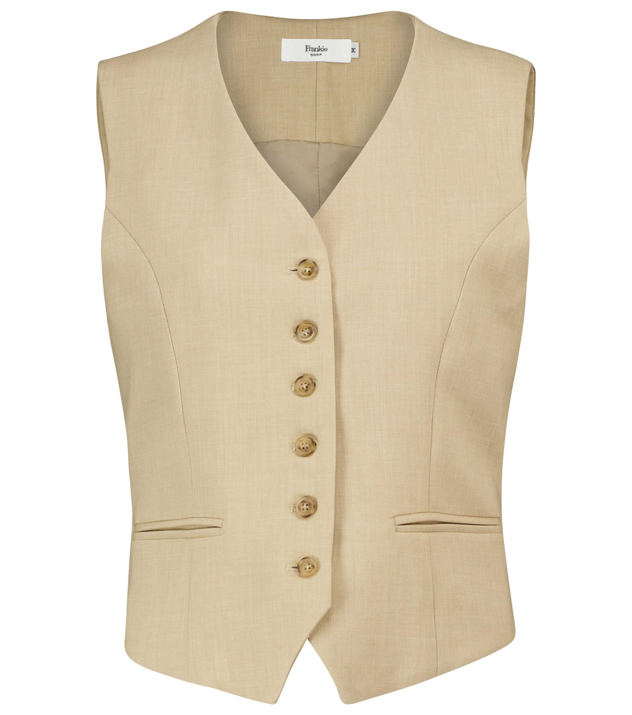 Frankie Shop Button Down Vest