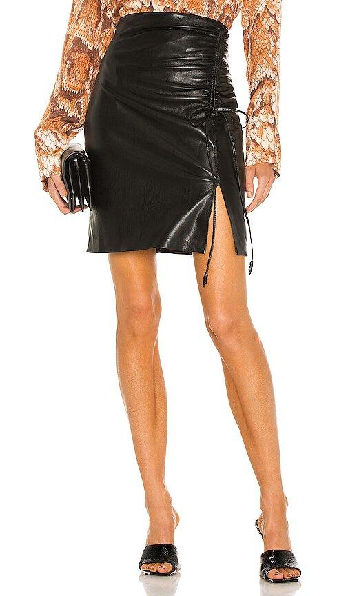 Nanushka Vegan Leather Zow Skirt