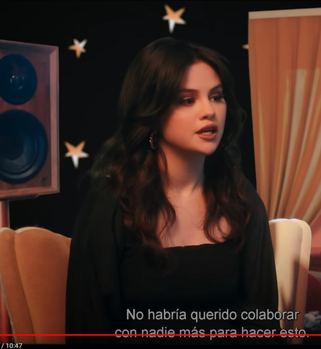 where to get all Selena Gomez outfits black ruched dress Artist Spotlight Stories 15 September 2021 Photo youTube