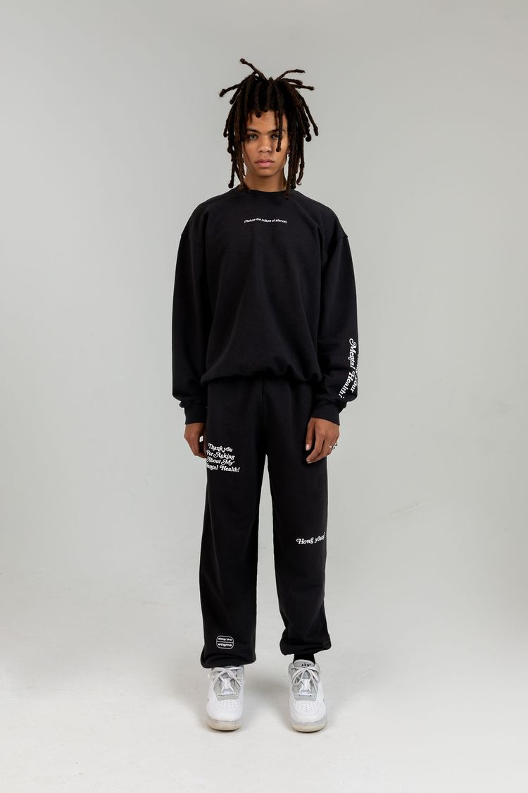 The Mayfair Group Answers May Vary Charcoal Hoodie front